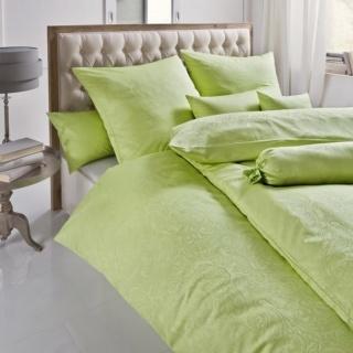 Lenjerie de pat verde  Damasc- Scarlett