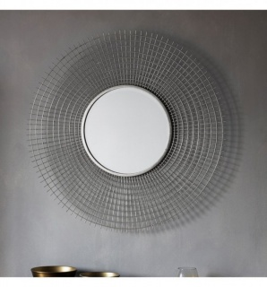 Oglinda Stafford argintiu