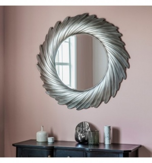Oglinda Lowry argintiu