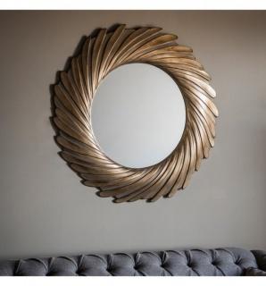 Oglinda Lowry auriu