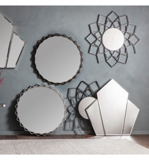 Oglinda Attika argintiu